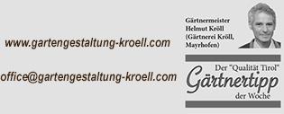 Gartengestaltung Kröll